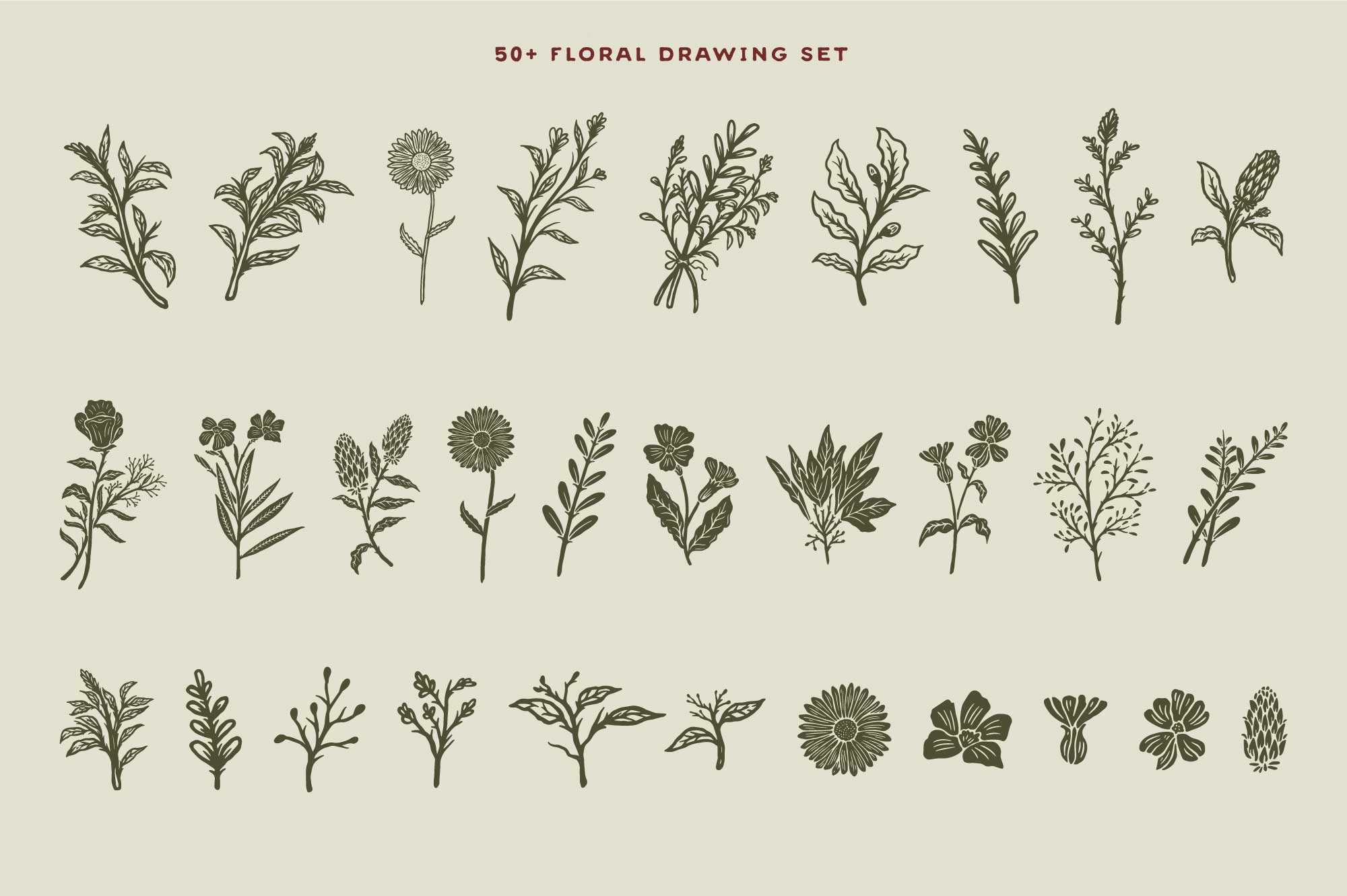 50+-Hand-Drawn-Floral-Logo-and-Badge-Templates-Vol.02-Preview-02